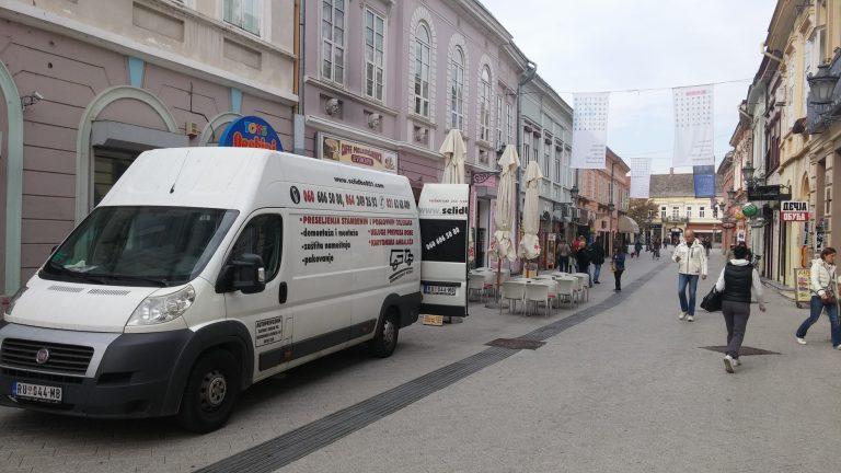 Asistencija na prinudnom izvršenju u Dunavskoj ulici