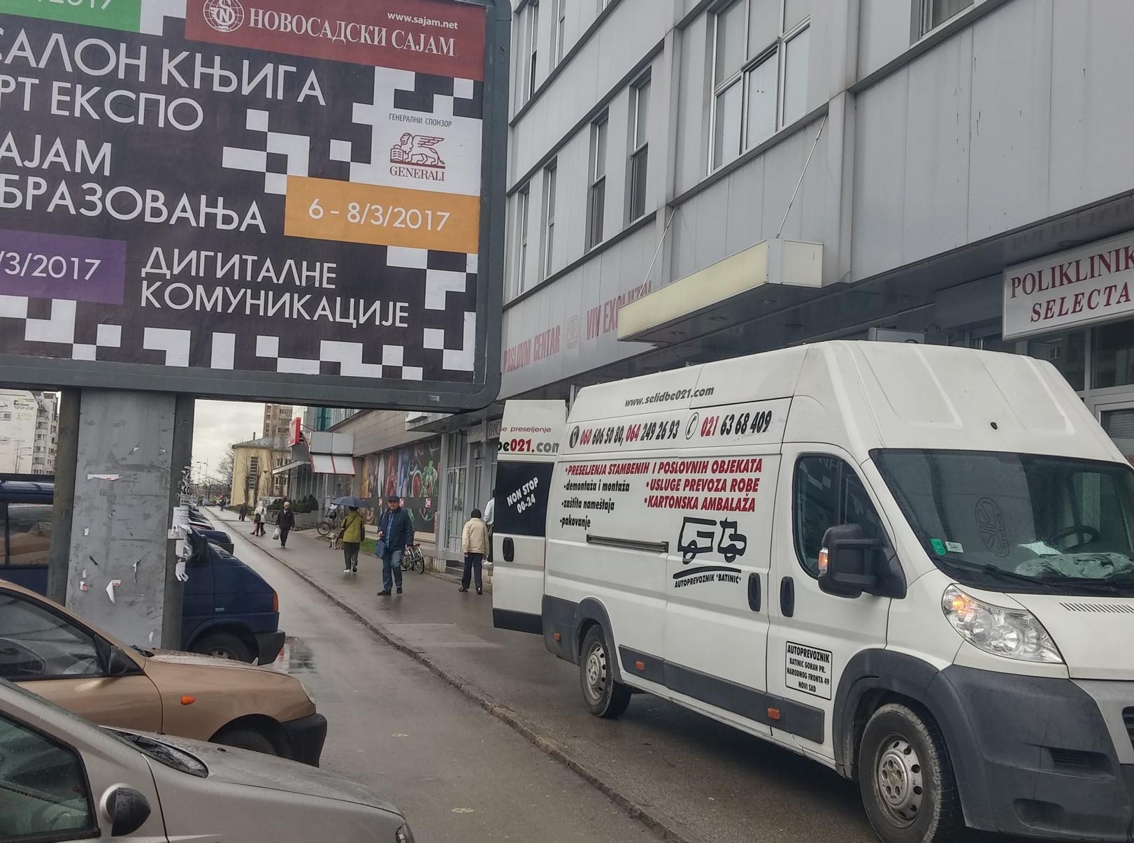 Selidbe Novi Sad